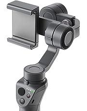 DJI Estabilizador Osmo Mobile 2 - Para iPhone & smartphone, convierte tu móvil en una cámara inteligente para grabar en movimiento -  Gris