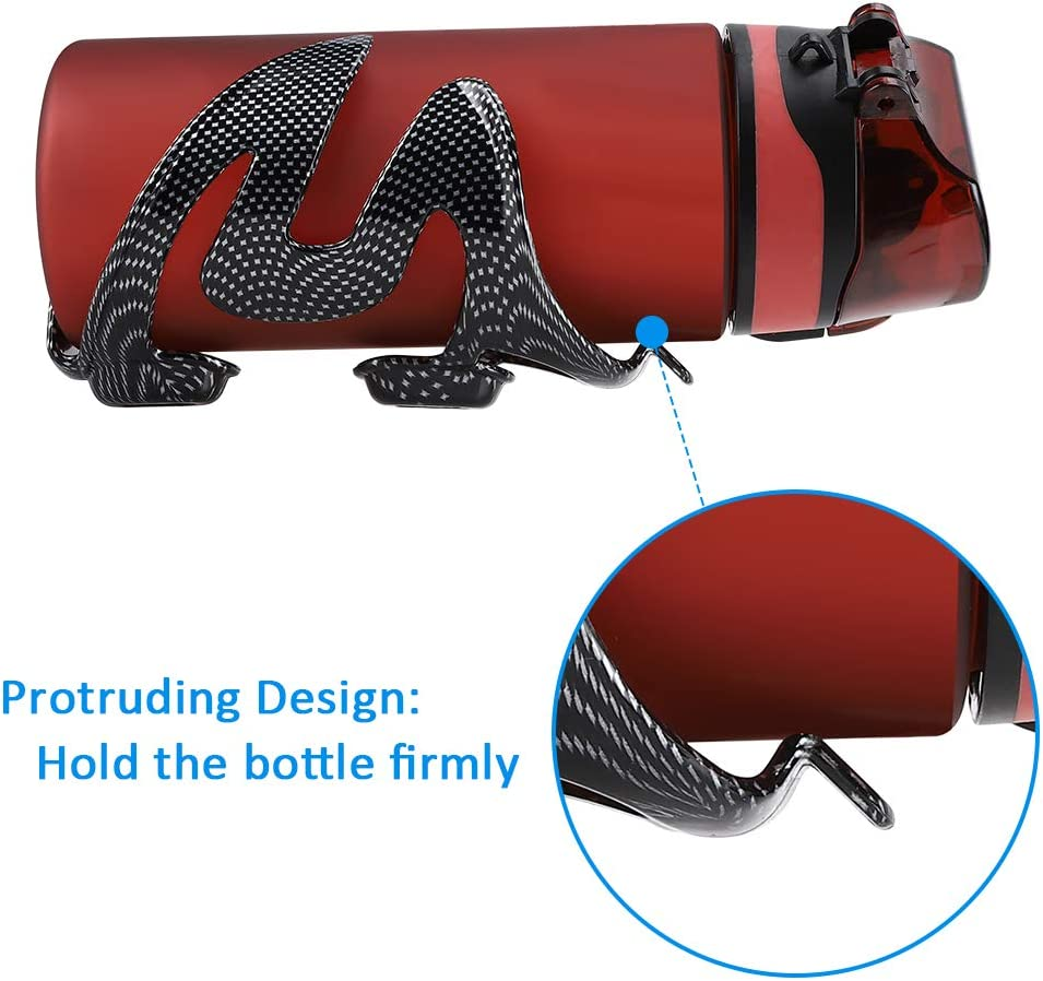 Accmor Bike Water Bottle Cage Lightweight Carbon Fiber Bicycle Drink Water Bottle Holder for Road Bike MTB Cycling Accessories