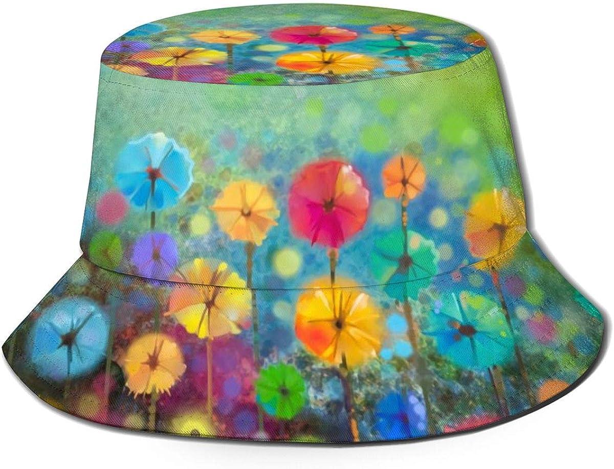 Nature Flowers Bucket Hat...