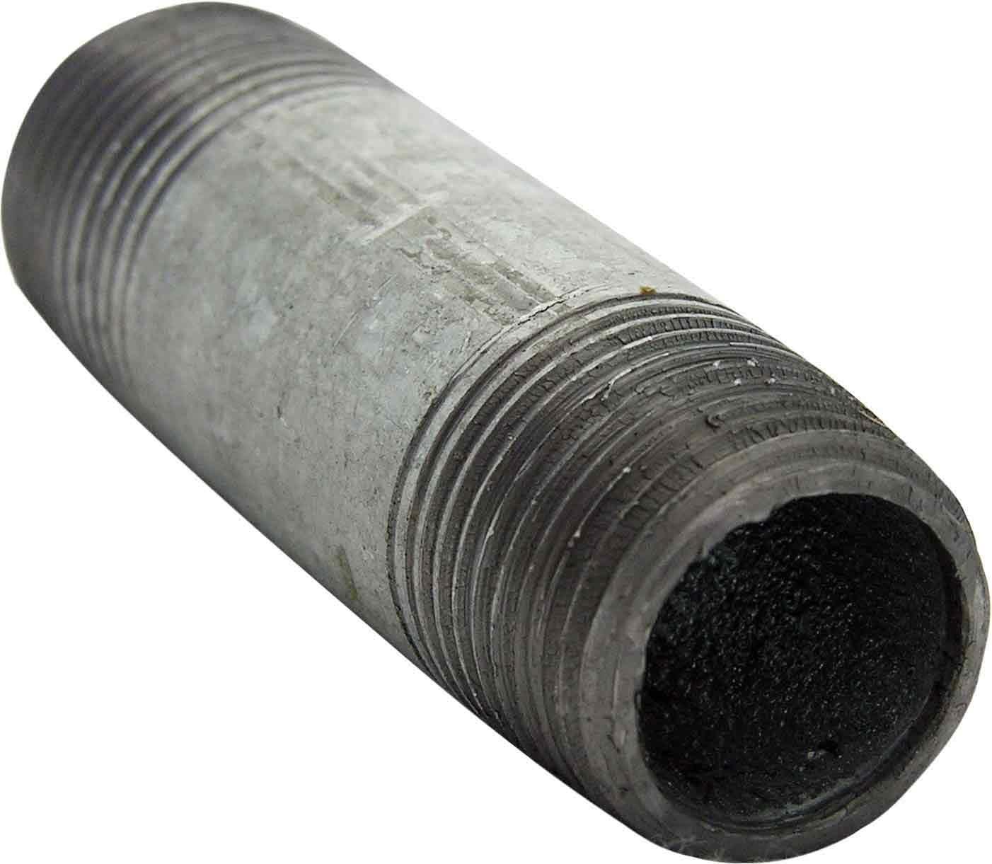 LASCO 17-9785 3//8-Inch by 2-Inch Galvanized Pipe Nipple