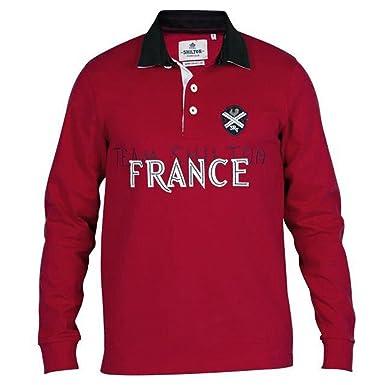 Shilton - Polo de rugby de l Selección Francia, rojo, xx-large ...
