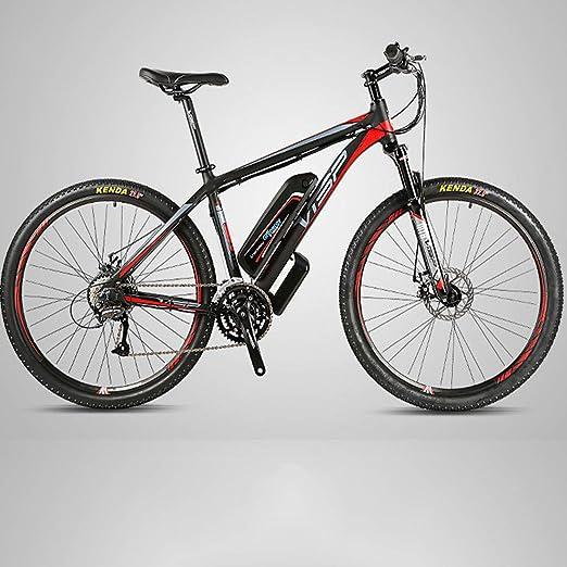 Jun Bicicleta eléctrica, batería extraíble Actualizado con 36V ...