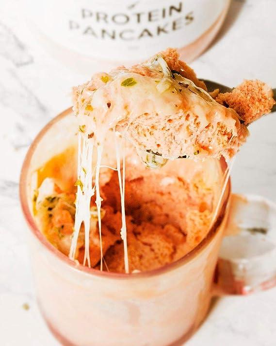 Body Genius Smarter Nutrition Protein Pancakes Tortitas Proteicas Saladas, Fáciles de Hacer con Proteína Whey Isolate, Harina de Avena, Pizza - 400 g