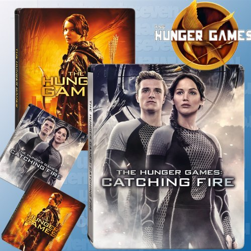 The Hunger Games / The Hunger Games: Catching Fire (Steelbook Collection [Blu-ray + UV])