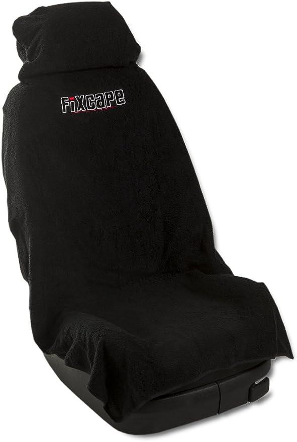 Fixcape Autositzbezüge Universal Als Überwurf Aus Baumwolle Autositzbezug Schonbezug Sitzbezug Für Das Auto Sitzbezüge Autositz Werkstattschonbezug Vordersitze Schwarz Auto