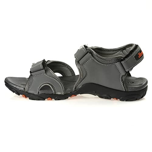 4933f8ec0765a0 PARAGON Stimulus Men s Grey Sandals  Buy Online at Low Prices in India -  Amazon.in