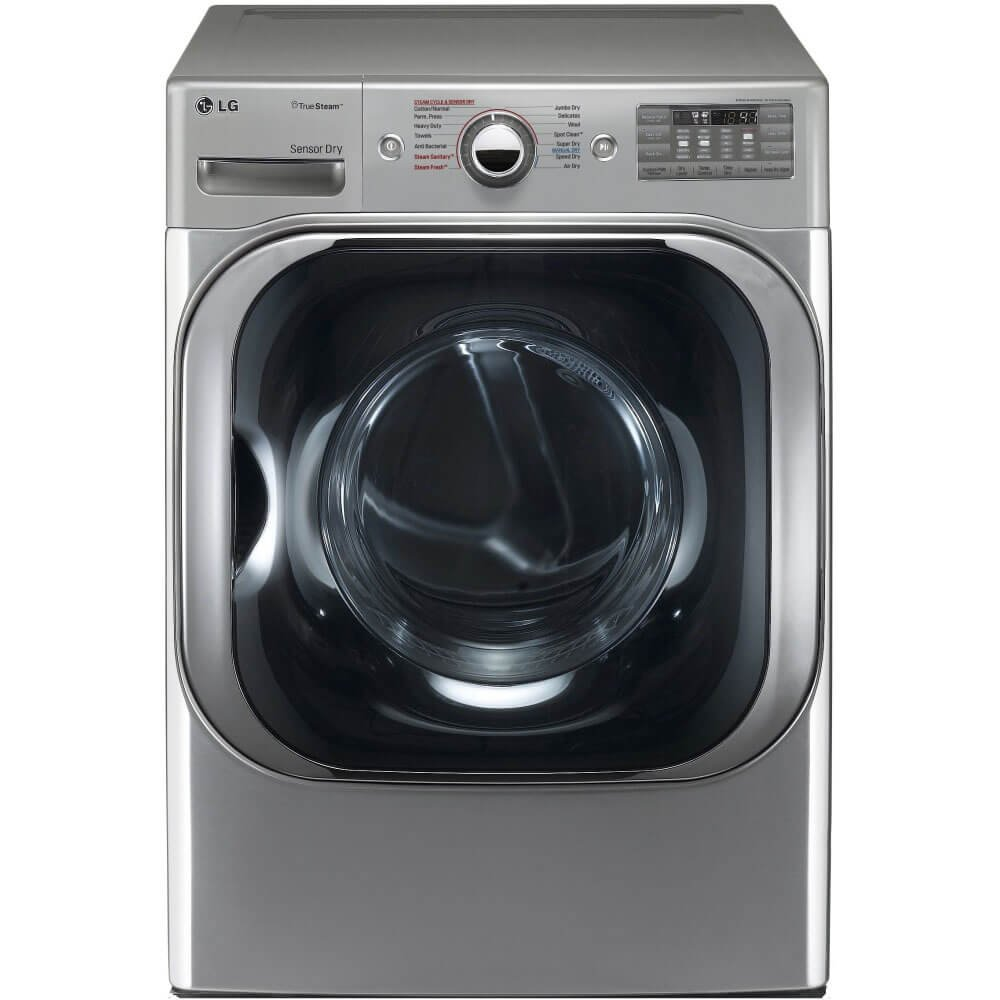 LG DLEX8100V Mega Capacity TrueSteam Electric Dryer