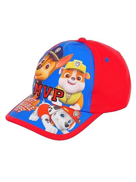 54fb2f9e809 Paw Patrol Boys  Baseball Cap - red