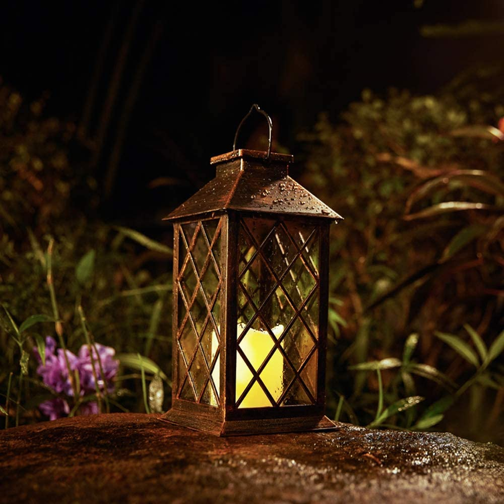 HomTek Candle Solar Lantern