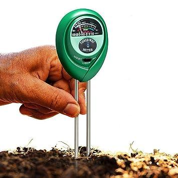 Messung Und Analyse Instrumente Boden Hygrometer 3 In 1 Ph Tester Boden Wasser Feuchtigkeit Licht Test Meter Für Garten Pflanze Blume