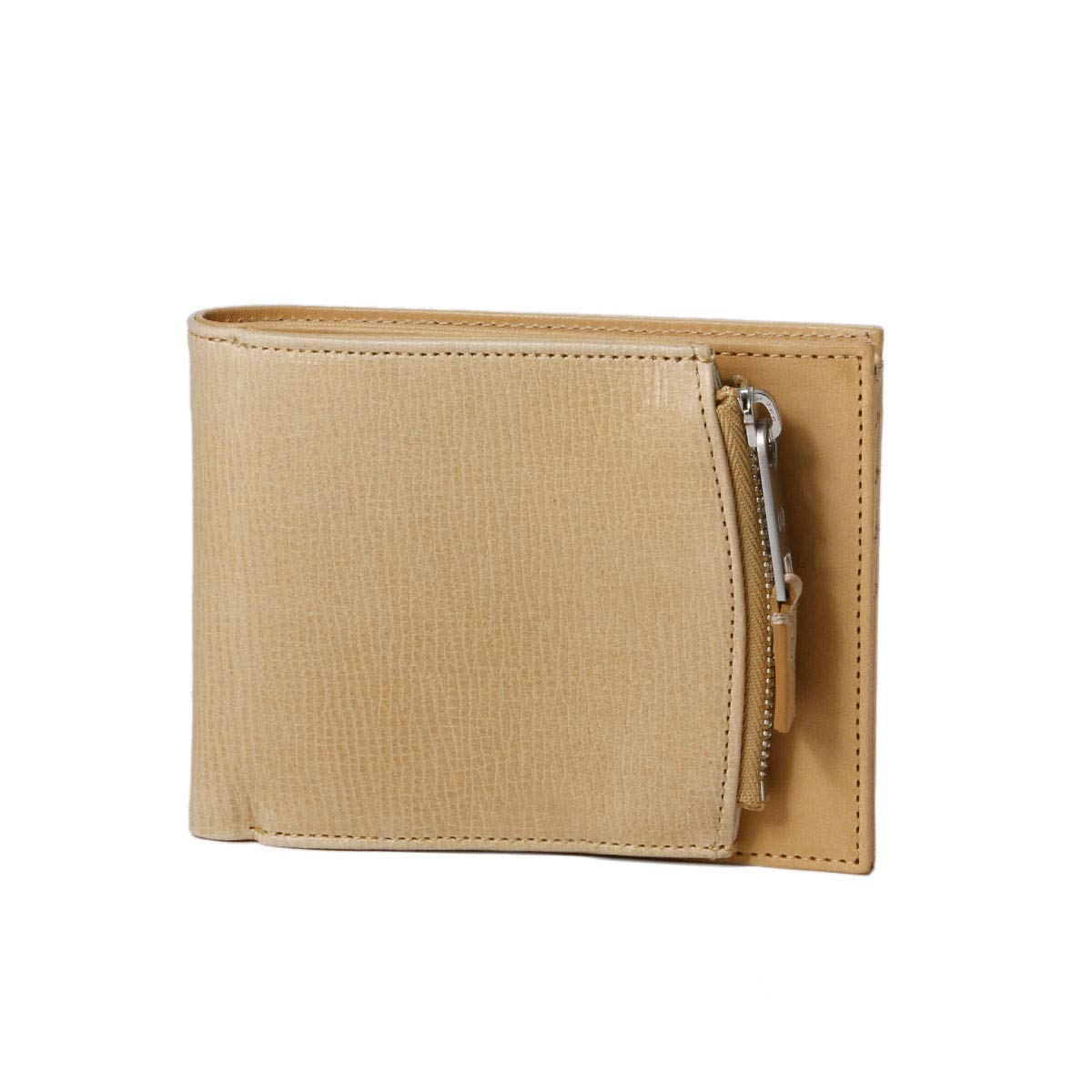 (マルタン マルジェラ) MARTIN MARGIELA ライン11 二つ折り財布 ベージュ S35UI0436 P2392 T4091 [並行輸入品] B07SPJ86P8