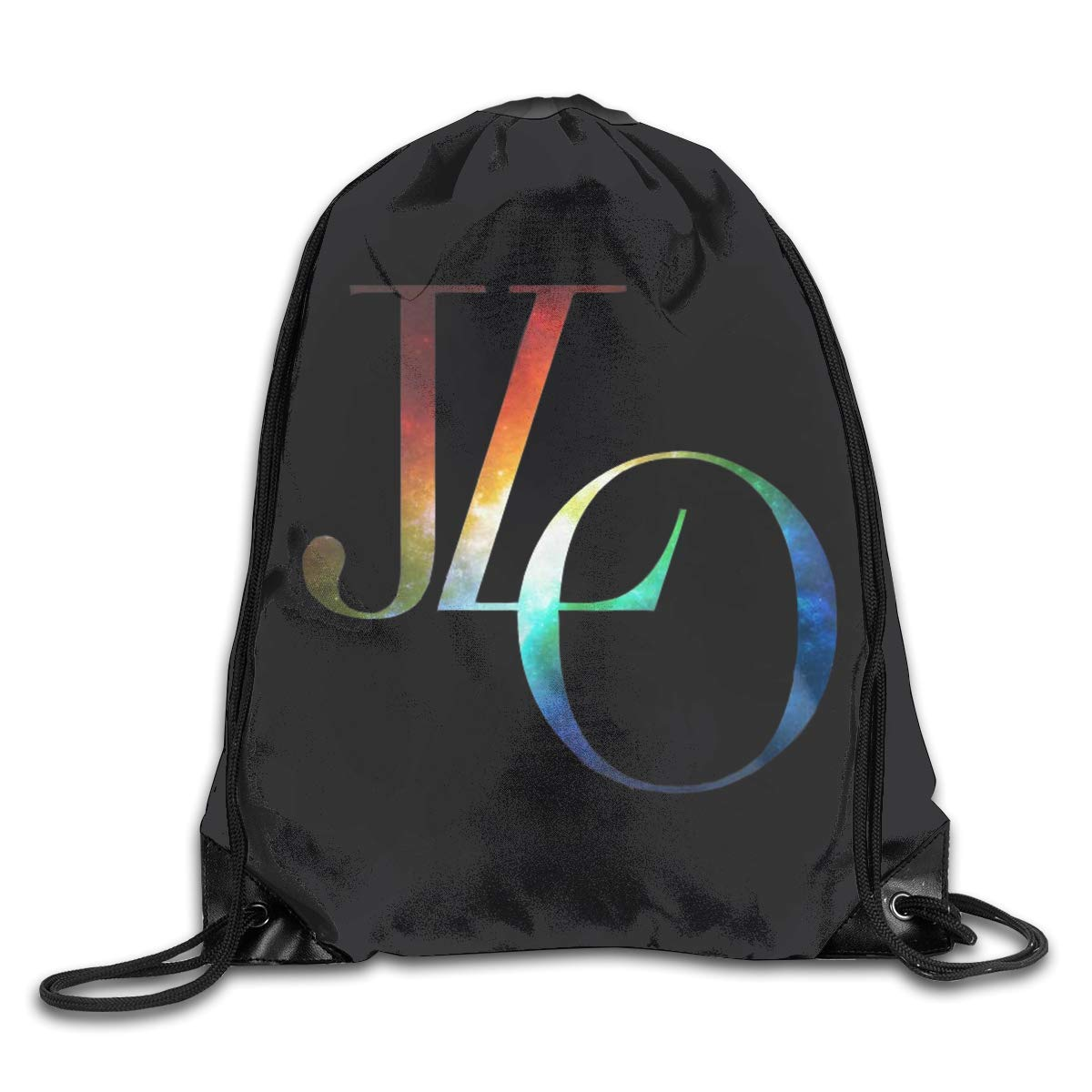 YingaiOK Drawstring Shoulder Bag Jennifer Lopez Bundle Pocket Outdoor Knapsack Sport Gym Backpack