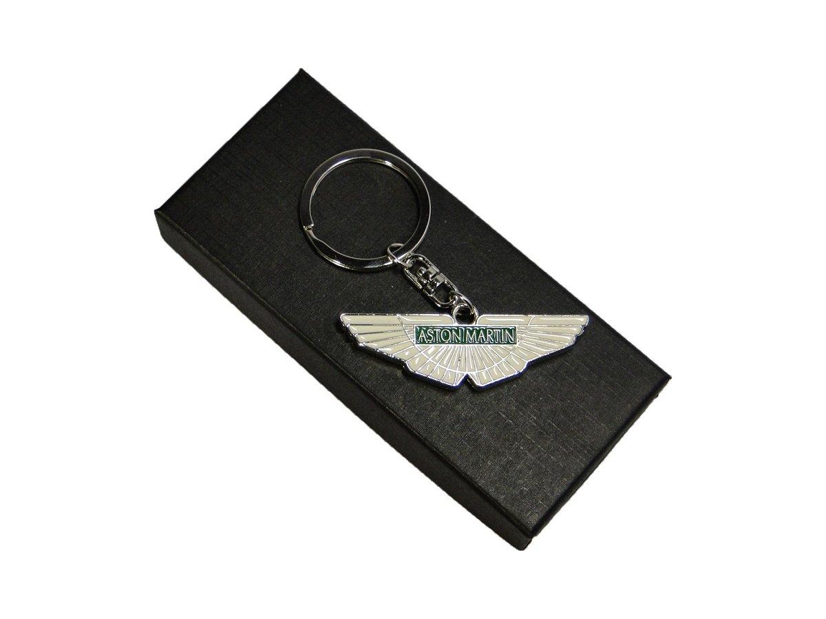 Jmtrading Aston Martin Porte-clés en métal avec boîte cadeau Différentes couleurs, Green