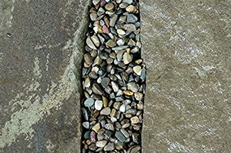 Amazon Com Gravel Lok Diy Decorative Stone Bonding Kit River