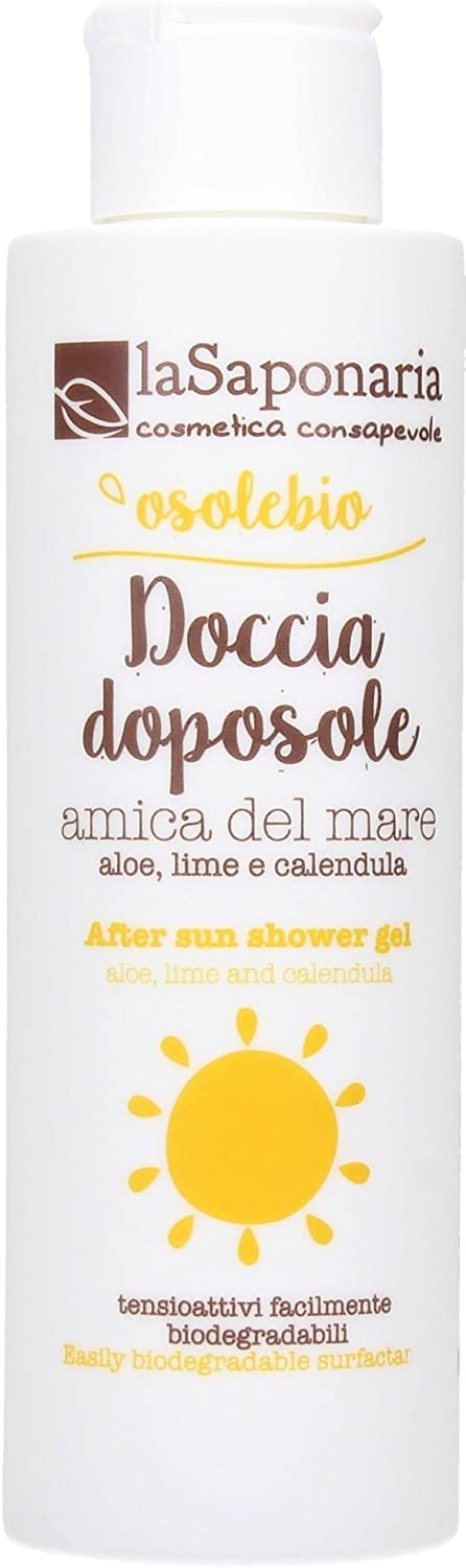 LA SAPONARIA - Osolebio After Sun Shower Gel - Limpiador Corporal ...
