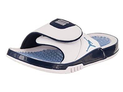 Superior Quality Sandals Shoes Mens Jordan Retro 4 Hydro White/University Blue/Midnight Navy