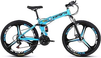 QWE Bicicleta de montaña 26 Pulgadas Bicicleta de montaña ...
