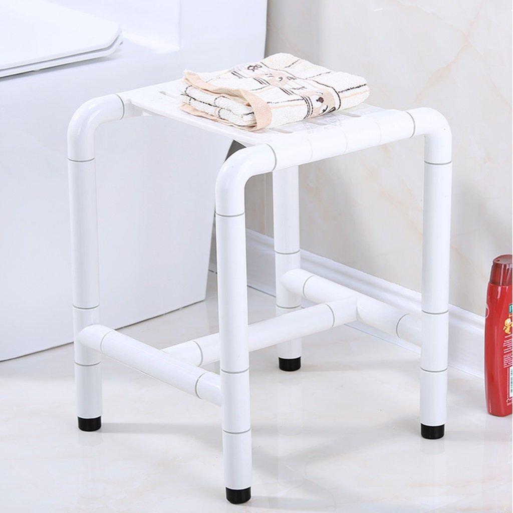 Brilliant firm Taburete Antideslizante del Cuarto de baño del del del Acero Inoxidable de la Seguridad anticorrosión anticorrosión (Color   Blanco, Tamaño   450mm) f3134e