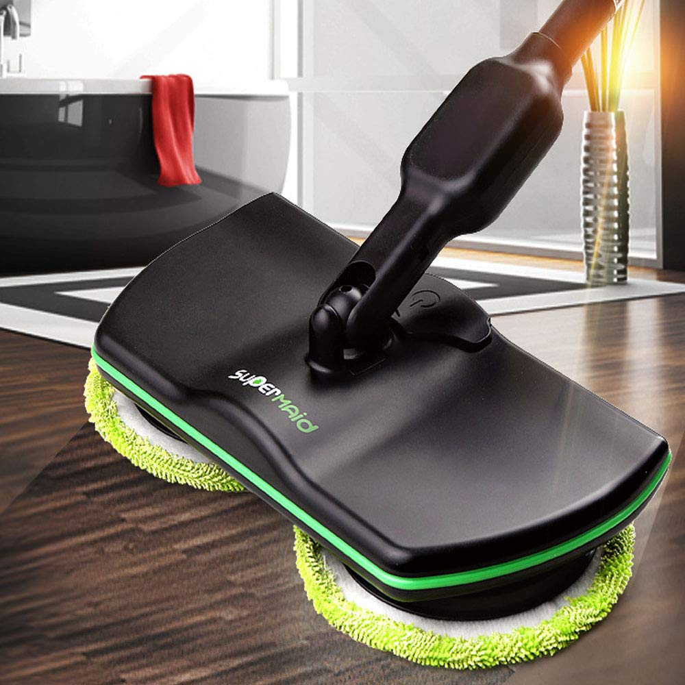 Electric Mop Lazy Charging Double Rotation Cleaning Cloth Wireless Hand Push Home Multi-Function Cleaner Vacuum Cleaner by HXD