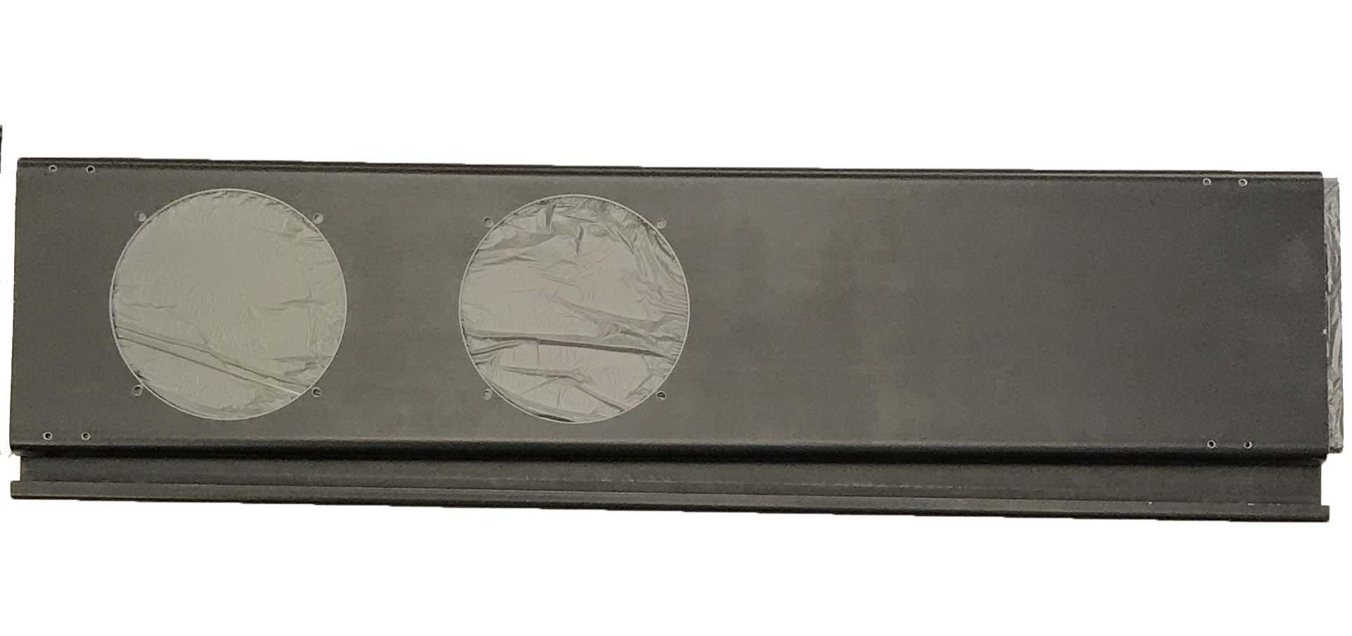 OEM Danby Air Conditioner BLACK Two Hole Window Slider for DPA110DHA1CP, DPAC13009, DPA120DHA1CP, DPAC7099