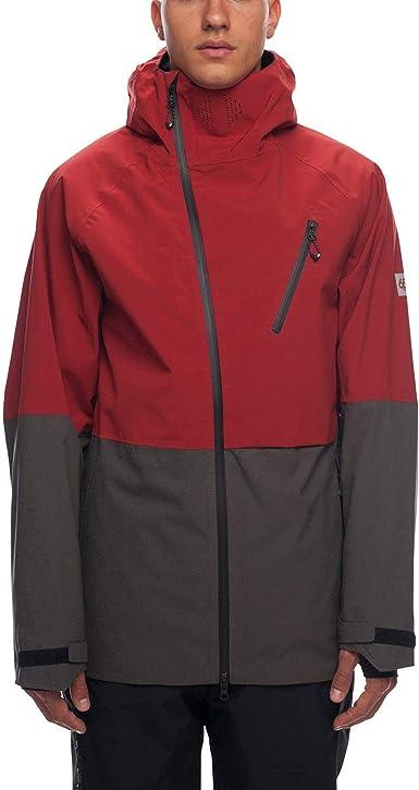 Veste de Ski GLCR Hydra Thermagraph Jacket Rusty Red
