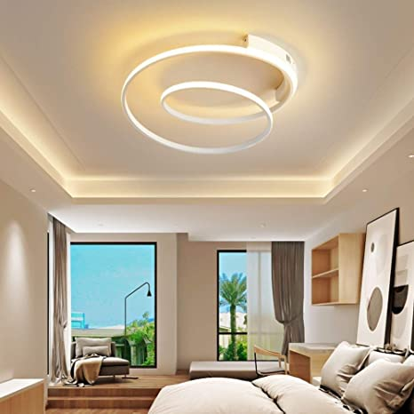Lámpara De Techo LED Lámpara De Techo De Diseño Moderno Lámpara De ...