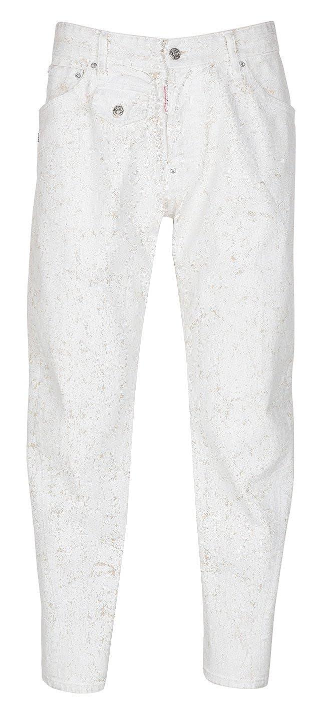 Amazon.com: Dsquared2 trabajo de hombres Wear Jean Pintura ...