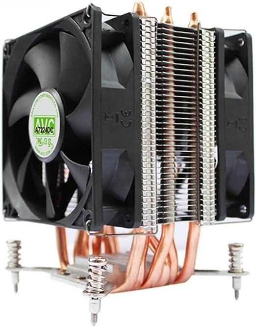 Chengleilei 6 CPU de Tubo de Cobre, disipador de Calor, Servidor ...
