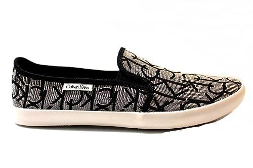 Calvin Klein Jeans Hombre Fabion Zapatillas de Gimnasia Size: 46: Amazon.es: Zapatos y complementos