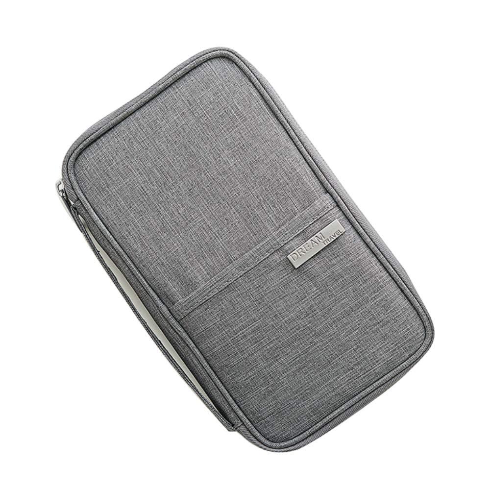 Passport Wallet RFID Blocking Travel Organizer Bag,Travel Wallet Passport Holder