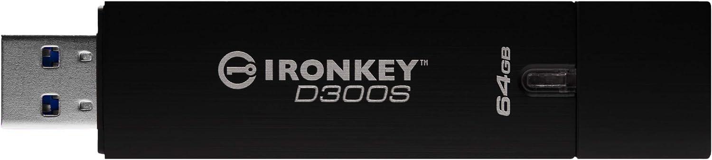 Kingston Ironkey D300s Verschlüsselter Usb 64gb Computer Zubehör