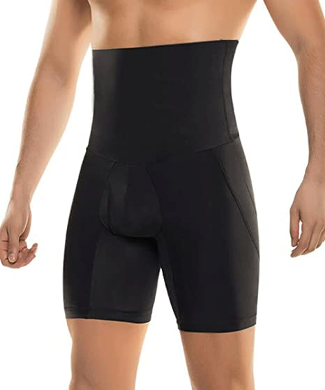 b7fa0e739260f Image Unavailable. Image not available for. Color  RIBIKA Men s Sauna Sweat Shorts  Tummy Control Sport Short Tights Body Shaper Pants