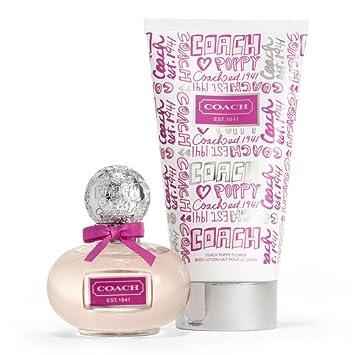 Coach Poppy Flower Perfume Set Edp Spray Body Lotion Gift Set