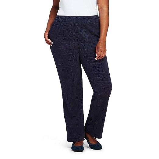 dc7da70f031 Lands  End Women s Plus Size Sport Knit Elastic Waist Pants High Rise