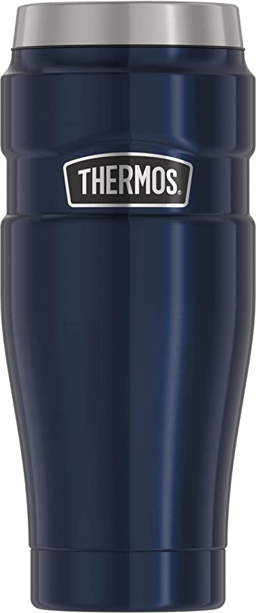Thermos 16 oz Stainless King Vacuum Insulated Stainless Steel Travel Mug