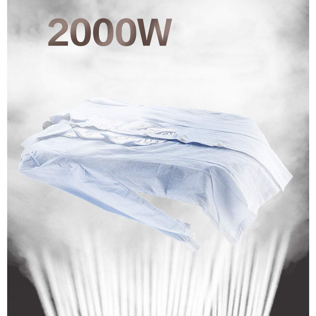 Hanging Ironing Machine 2000W Modern Fashion Home Clothes Steamer Portable Handheld Upright Steam Generator Ironing Machine by Steam ironing (Image #7)