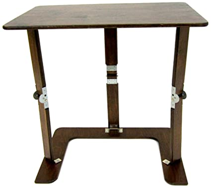 Fabulous Spiderlegs Folding Couch Desk Tray Table 25 Inch Dark Walnut Caraccident5 Cool Chair Designs And Ideas Caraccident5Info