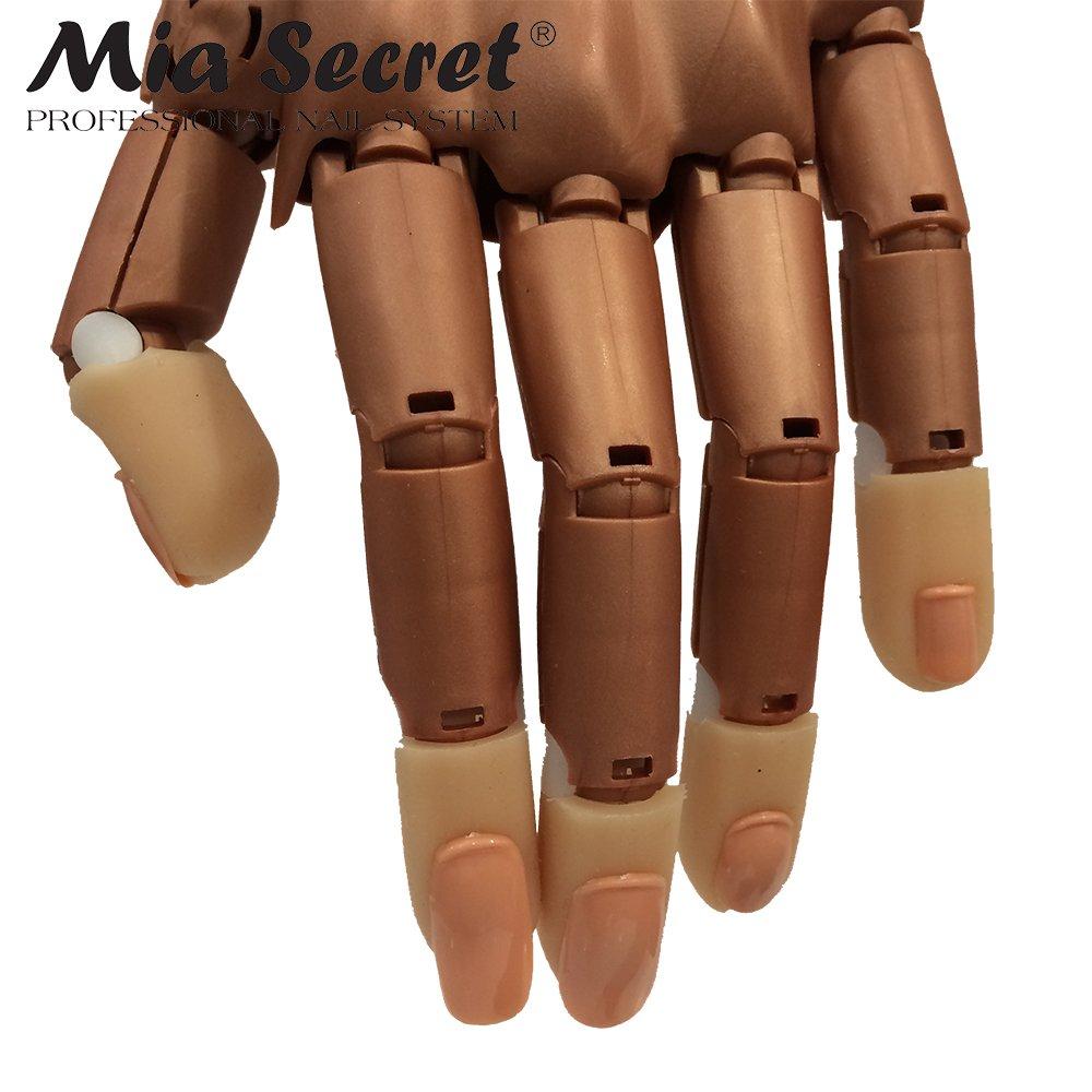 Amazon.com : MIA SECRET Nail Trainer Mechanical Practice Hand : Beauty