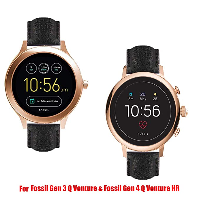 lamshaw Smartwatch banda para fósiles Q Venture, gdfb malla ...
