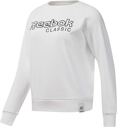 Reebok Classic white Sweatshirt Femme Sweatshirts Vêtements