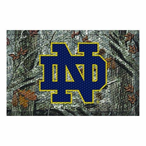 Fighting Irish Door Mat Rug - NCAA Notre Dame Fighting Irish Shoe Scraper Door Mat