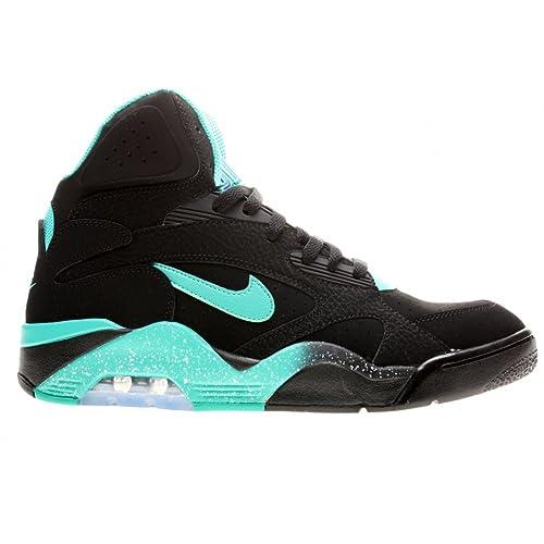 Nike Air Force 180 High Black, Negro (Negro), 42.5: Amazon