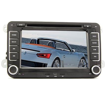 Amazon.com: Pupug coche reproductor de DVD para Volkswagen ...