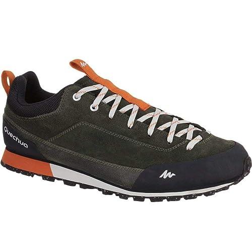 Quechua - Botas de Senderismo de Caucho para Hombre, Color Naranja, Talla 42: Amazon.es: Zapatos y complementos