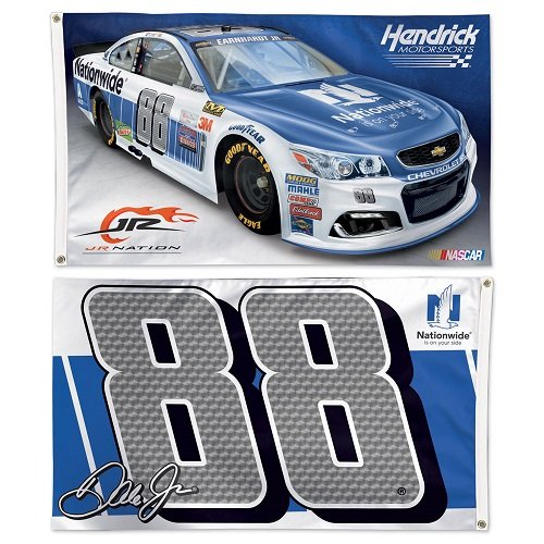 - WinCraft NASCAR Dale Earnhardt Jr WCR68806015 2 Sided Flag, 3' x 5'