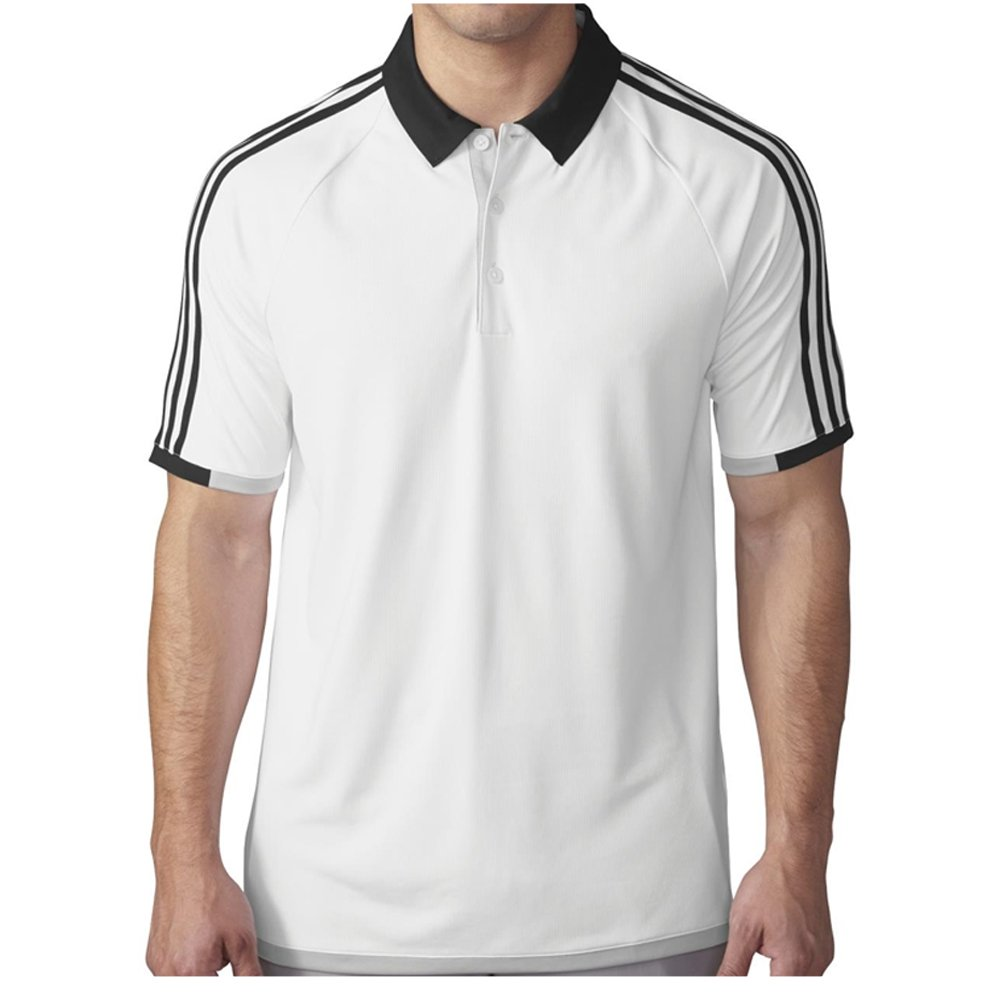 adidas Golf Polo 3 Rayas Climachill Competencia Camisa: Amazon.es ...