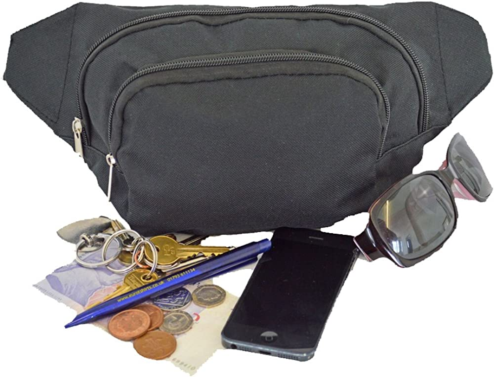 Euro Brand New Pro-Travel Bum Belt Bag Hip Pouch Fanny Pack 5 Great Colours