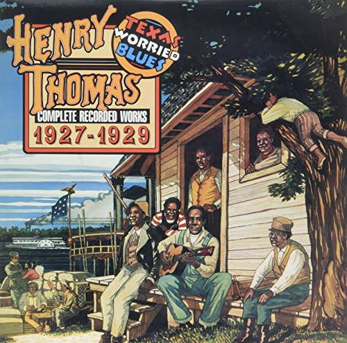Henry Thomas - Complete Recorded Works 1927-1929: Texas Worried Blues (180 Gram Vinyl, Reissue, 2PC)