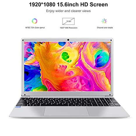 LHMZNIY Yepbook,15 6 inch Windows 10 Intel Atom X5-E8000 Quad Core 4GB RAM  64GB ROM Notebook with Numeric Keypad,Thin and Lightweight Laptop