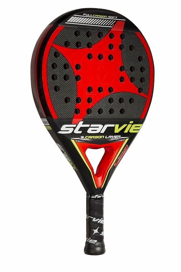 Pala padel Starvie 8.3 Carbon Soft: Amazon.es: Deportes y aire libre